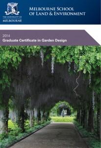 Graduate Certificate in Garden design 2014-1sml