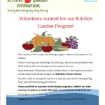 Kitchen Garden volunteers